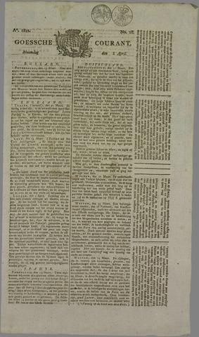Goessche Courant 1822-04-08