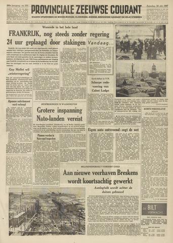 Provinciale Zeeuwse Courant 1957-10-26
