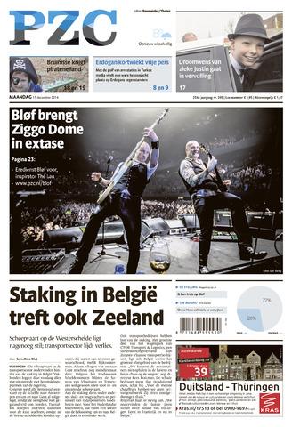 Provinciale Zeeuwse Courant 2014-12-15