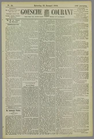 Goessche Courant 1919-01-25