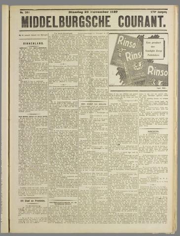 Middelburgsche Courant 1927-11-29