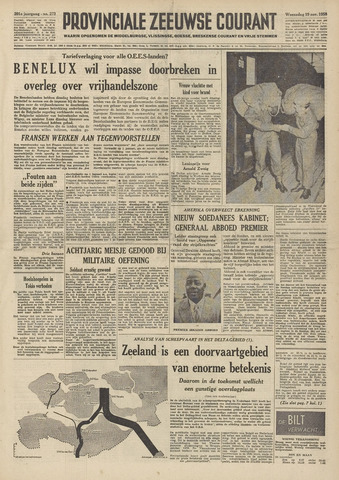 Provinciale Zeeuwse Courant 1958-11-19