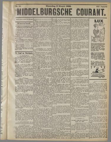 Middelburgsche Courant 1922-03-06