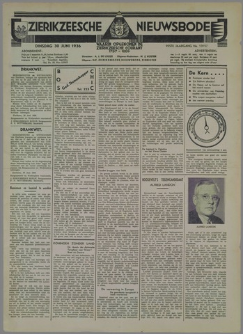 Zierikzeesche Nieuwsbode 1936-06-30