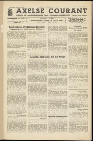 Axelsche Courant 1964-10-03