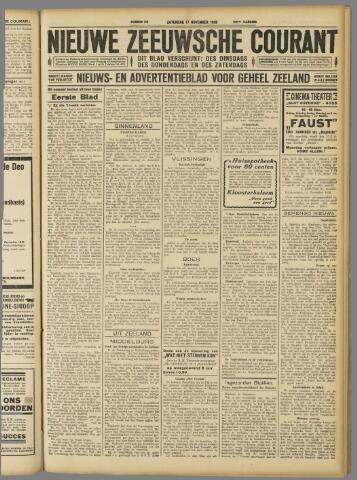 Nieuwe Zeeuwsche Courant 1928-11-17