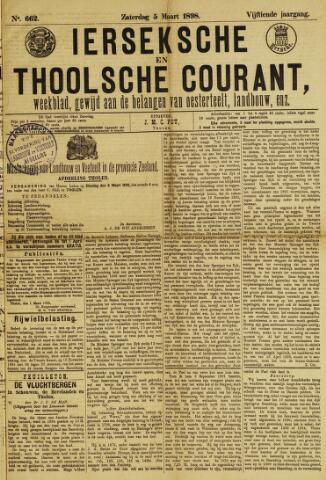 Ierseksche en Thoolsche Courant 1898-03-05