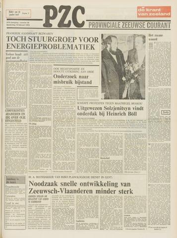 Provinciale Zeeuwse Courant 1974-02-14
