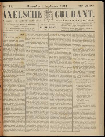 Axelsche Courant 1913-09-03