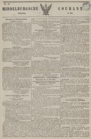 Middelburgsche Courant 1850-05-14