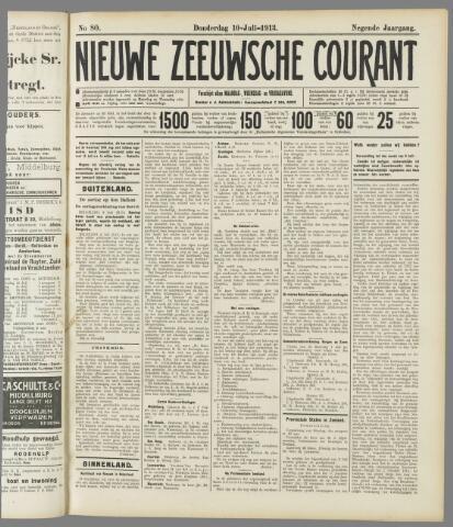 Nieuwe Zeeuwsche Courant 1913-07-10