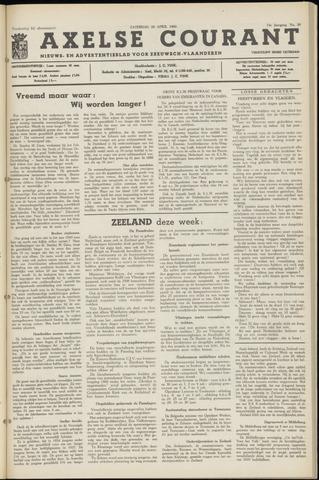 Axelsche Courant 1960-04-23
