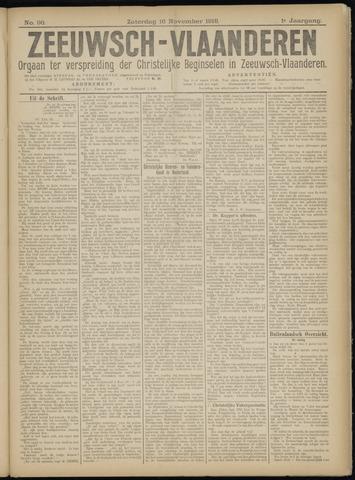 Luctor et Emergo. Antirevolutionair nieuws- en advertentieblad voor Zeeland / Zeeuwsch-Vlaanderen. Orgaan ter verspreiding van de christelijke beginselen in Zeeuwsch-Vlaanderen 1918-11-16