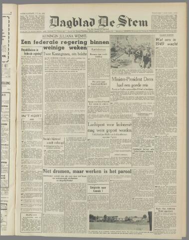de Stem 1949-01-07