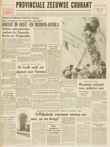 Provinciale Zeeuwse Courant 1964-01-27