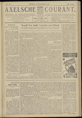Axelsche Courant 1940-11-08