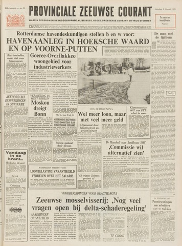 Provinciale Zeeuwse Courant 1969-02-08