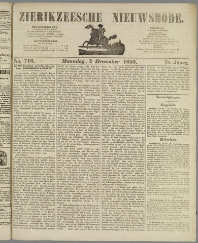 Zierikzeesche Nieuwsbode 1850-12-02