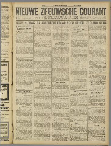 Nieuwe Zeeuwsche Courant 1926-01-16