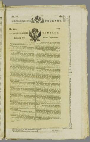 Middelburgsche Courant 1809-08-26