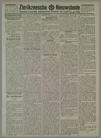 Zierikzeesche Nieuwsbode 1932-04-06