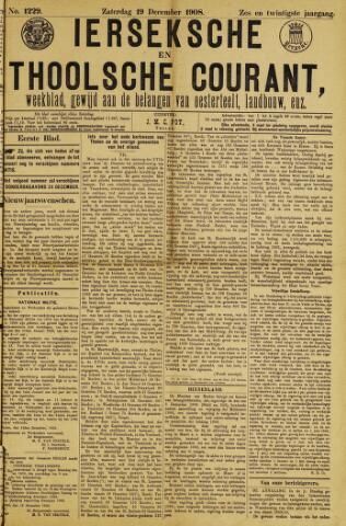 Ierseksche en Thoolsche Courant 1908-12-19
