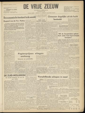 de Vrije Zeeuw 1951-02-22