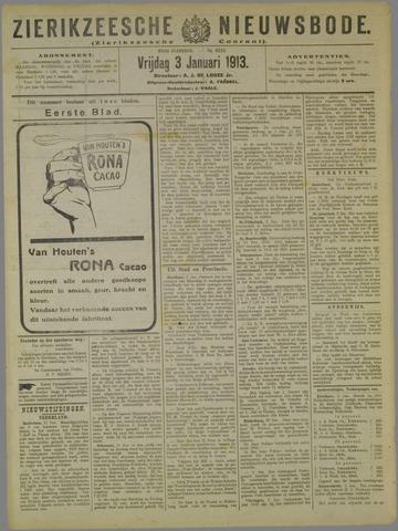 Zierikzeesche Nieuwsbode 1913-01-03