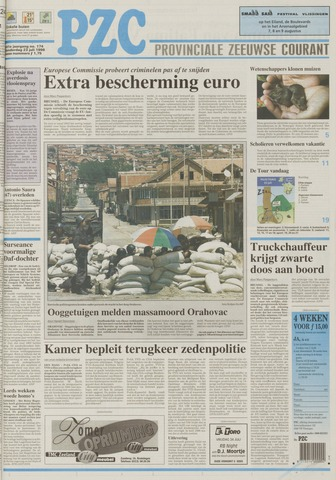 Provinciale Zeeuwse Courant 1998-07-23