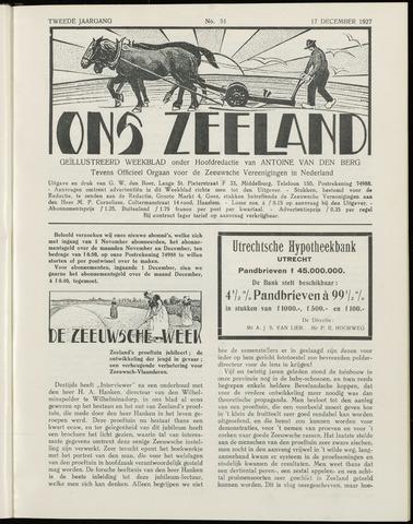 Ons Zeeland / Zeeuwsche editie 1927-12-17