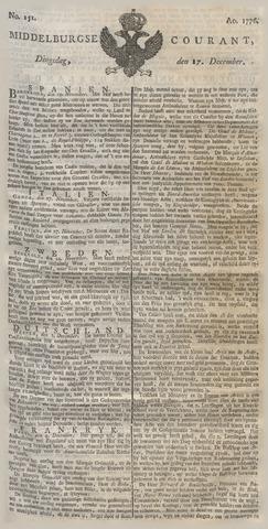 Middelburgsche Courant 1776-12-17
