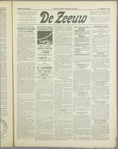 De Zeeuw. Christelijk-historisch nieuwsblad voor Zeeland 1937-06-26