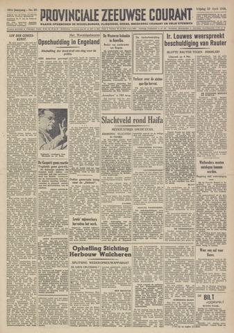 Provinciale Zeeuwse Courant 1948-04-23
