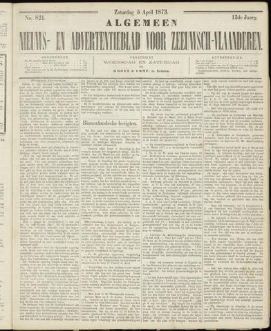 Ter Neuzensche Courant. Algemeen Nieuws- en Advertentieblad voor Zeeuwsch-Vlaanderen / Neuzensche Courant ... (idem) / (Algemeen) nieuws en advertentieblad voor Zeeuwsch-Vlaanderen 1873-04-05