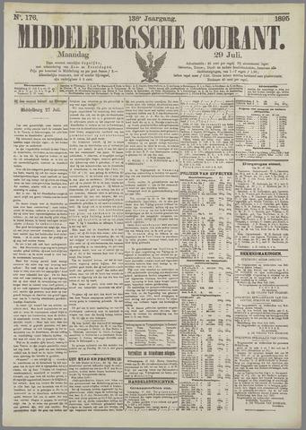 Middelburgsche Courant 1895-07-29