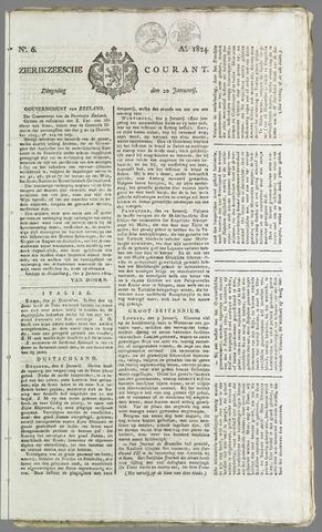Zierikzeesche Courant 1824-01-20