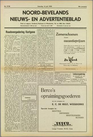 Noord-Bevelands Nieuws- en advertentieblad 1955-07-16