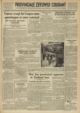 Provinciale Zeeuwse Courant 1950-07-20