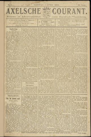 Axelsche Courant 1924-04-01