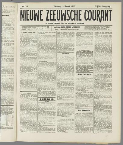 Nieuwe Zeeuwsche Courant 1909-03-02