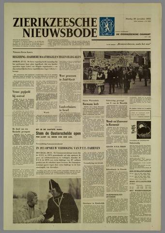 Zierikzeesche Nieuwsbode 1972-11-28