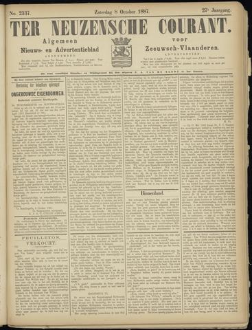 Ter Neuzensche Courant. Algemeen Nieuws- en Advertentieblad voor Zeeuwsch-Vlaanderen / Neuzensche Courant ... (idem) / (Algemeen) nieuws en advertentieblad voor Zeeuwsch-Vlaanderen 1887-10-08