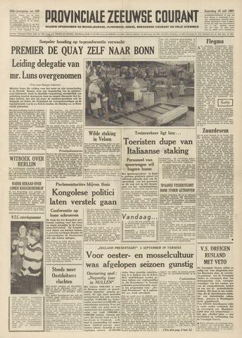 Provinciale Zeeuwse Courant 1961-07-15