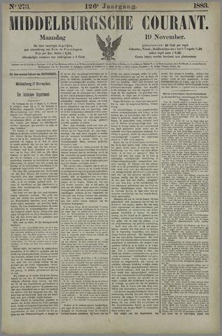 Middelburgsche Courant 1883-11-19