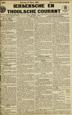 Ierseksche en Thoolsche Courant 1923-03-17