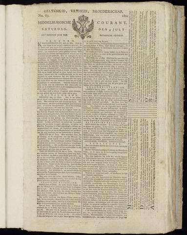 Middelburgsche Courant 1801-07-04