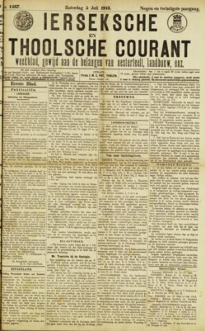 Ierseksche en Thoolsche Courant 1913-07-05