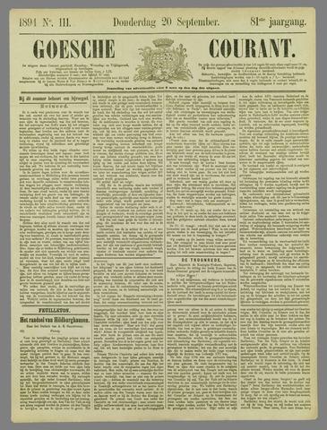 Goessche Courant 1894-09-20