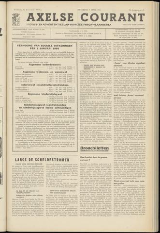 Axelsche Courant 1966-04-09