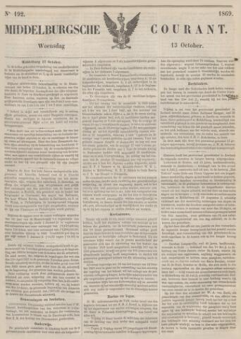 Middelburgsche Courant 1869-10-13